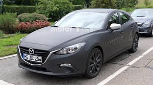 mazda 3 convertible mazda3 test mules spied not hiding skyactiv x engine development