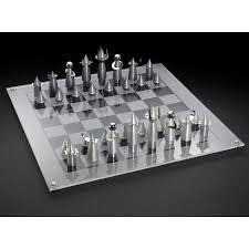 White Chess Set Laura Cowan Rocket Chess Set Jewish Gifts From Israel Judaica