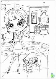 coloring pages littlest pet shop coloring home