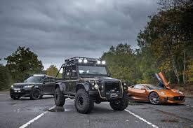 new land rover defender sorry canada only bond baddies get to drive the new land rover