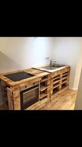 k che aus paletten innenarchitektur kühles kuche deko diy paletten und holz diy