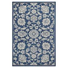 All Weather Outdoor Rugs Kas Rugs Umbria Blue 3 Ft 3 In X 4 Ft 11 In All Weather Area