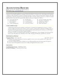 Bookkeeper Sample Resume Sample Resume For Bookkeeper Accountant Efficient Accountant Clerk