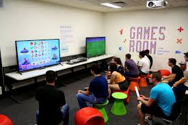 apartments interesting basement gaming room video game furniture