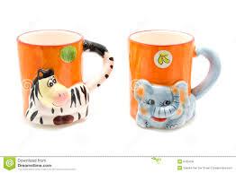 animal mugs royalty free stock photos image 9705458
