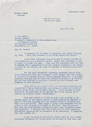 john f kennedy assassination mark lane fbi u0026 warren commission files