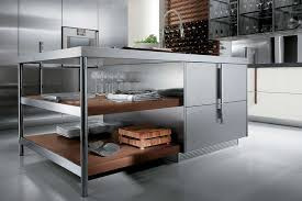 Stainless Kitchen Islands Kitchen Small Rectangle Stainless Steel Kitchen Island With