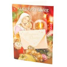 polish art center assorted polish religious christmas cards with