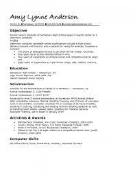 resume template for high students australian animals resumes for high students sle applying to college resume