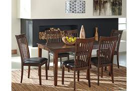 Mallenton Dining Room Table And Chairs Set Of  Ashley - Ashley furniture dining room table