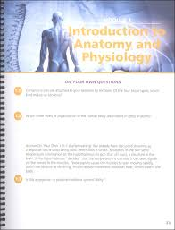 Fundamentals Of Anatomy And Physiology Third Edition Study Guide Answers Advanced Biology Human Body Student Study U0026 Lab Notebook 2nd