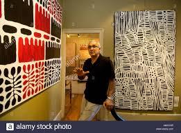 Gannon Gallery Owner Brian Bozorg In His Aboriginal Art Gallery