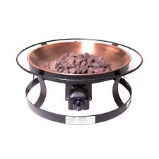 Natural Gas Fire Pit Kit Camp Chef Del Rio Propane Gas Fire Pit Fp29lg The Home Depot