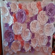 wedding backdrop aliexpress aliexpress buy 61pcs set paper flowers wedding