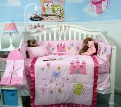 Soho Crib Bedding Set Soho Designs Bedding Sets Soho Pink Owl Castle Baby Crib Nursery