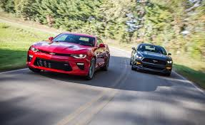 2016 chevrolet camaro ss vs 2015 ford mustang gt u2013 comparison