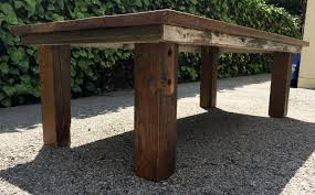 Handcrafted Wood Tables Appealing Square Handcrafted Brown Reclaimed Wood Coffee Table