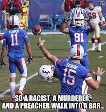 Tebow Meme - florida gators football alumni meme bar joke the notorious d o u g