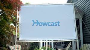 how to build an outdoor movie theater part 1 the screen howcast