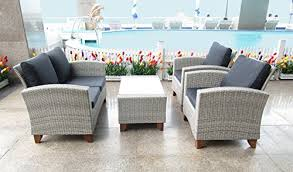 Weatherproof Patio Furniture Sets by Weatherproof Outdoor Patio 4 Piece Furniture Set All Weather