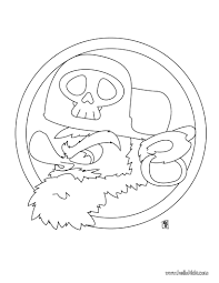 pirate portrait coloring pages hellokids com