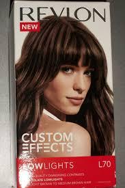low light hair color amazon com revlon custom effects hair lowlights chocolate hair