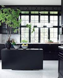 Matte Black Kitchen Cabinets 16 Kitchens With Black Kitchen Cabinets Done 16 Different Ways