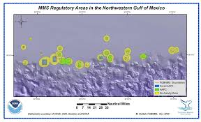 Gulf Of Mexico Depth Map by Flower Garden Banks National Marine Sanctuary And Other