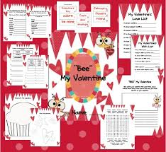 valentine u0027s day package freebie today in second grade