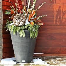 veradek midland tall square planter hayneedle