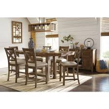 counter height dining room sets moriville counter height dining room set signature design