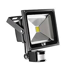 Outdoor Led Flood Lights by Le 30w Motion Sensor Led Flood Light Waterproof Daylight White