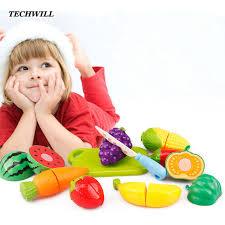 kit cuisine enfants 6 pcs ensemble simulation alimentaire kit cuisine cuisine de coupe