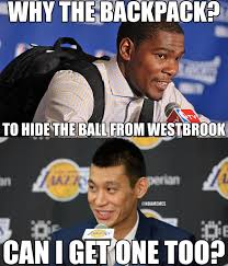 Jeremy Lin Meme - nba memes on twitter jeremy lin learning from kevin durant