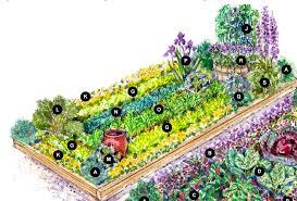 large colorful vegetable garden plan u2013 cottage garden living