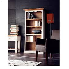 boddem bookcase 5 tier shelf white pine 25350 furniture in