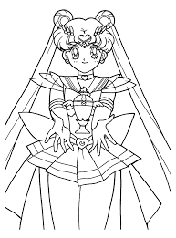 girls coloring page sailor moon cute pages of kidscoloringpage