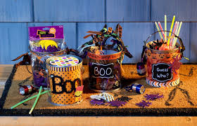 handmade halloween silent auction basket for fall festival gift