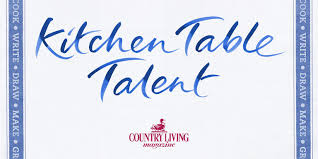 Kitchen Table Talent Country Living Magazine UK - Kitchen table talent