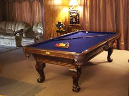 build a pool table crunch pool table with dark oak finish