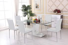4 Seater Glass Dining Table Sets Glass Dining Table Sets Uk Glass Dining Table Setsdining Table
