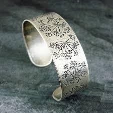 silver cuff bangle bracelet images Cow parsley silver cuff bracelet by camali design jpg