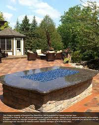How To Use A Firepit Electric Blue Reflective Pit Glass Pit