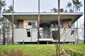 contemporary house near moscow by atrium architects architecture