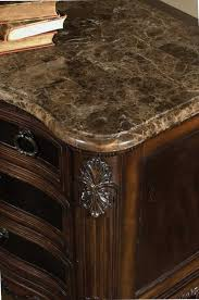 pulaski st raphael marble top nightstand pf 642141 at homelement com