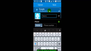 how to add to a on android how to add contacts in android phone
