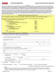 fillable online epack extra application cna pro fax email print
