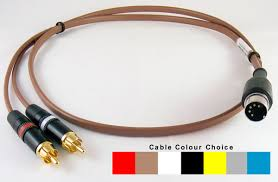 phono rca plugs naim style 5 pin din plug cables