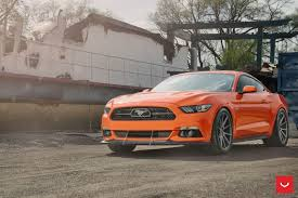 2015 ford mustang 5 0 2015 orange ford mustang 5 0 2k hd wallpaper wallpaperevo wallpapers