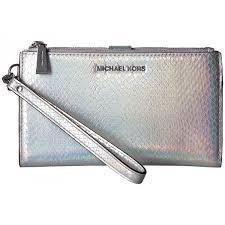 light pink michael kors wristlet michael kors double zip wristlet light pewter women bags handbags